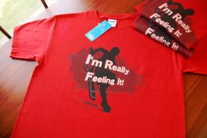 ''I'm Really Feeling It!'' SHIRT by tonkonton