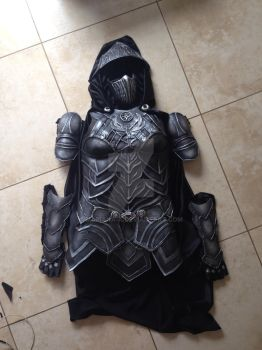 Nightingale armor finished by mariana-a