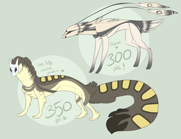 Creature adopts III {CLOSED} by SusuSmiles