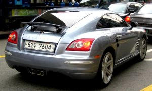 Chrysler Crossifire Coupe RARE by toyonda