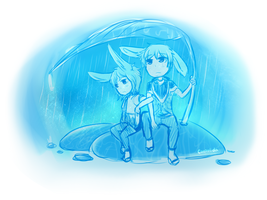 1 AM Rain by Caesol