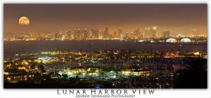 Lunar Harbor View by AndrewShoemaker