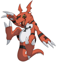 Guilmon- Digimon Tamers by xXSteefyLoveXx