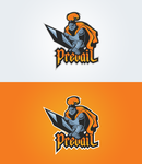 Prevail Mascot Logo by ShindaTravis