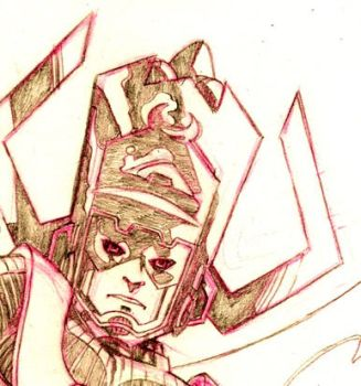 Galactus detail To be published in KandM book by guillomcool
