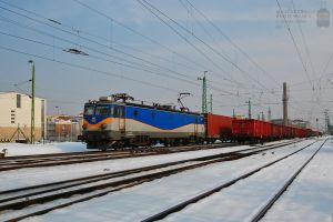 400 167 with a container train in Gyor in 2013 by morpheus880223
