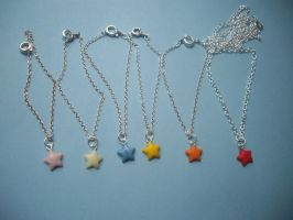 Star Necklaces BJD. by x-GlassHearts-x