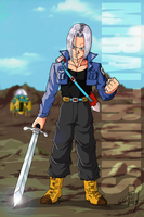 Dragonball Mirai Trunks by Nostal
