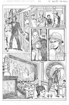 Pencil pages samples 4 by ivancortezvega