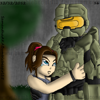 Please Don't Go (Halo) by bumblebeegirl15