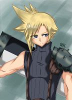 FF7 Cloud Strife by FenRox