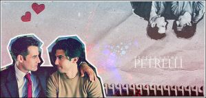 Peter and Nathan Petrelli by e-tania
