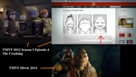 TMNT reference to 2014 in 2012 by RoxasTsuna