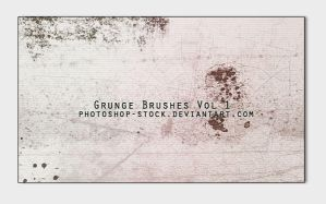 Grunge Brushes 1 by photoshop-stock