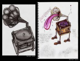 """Wacky Gramophone"" by OverlordMortiroth"