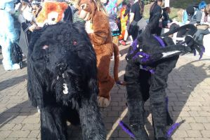 :MCM Oct 11: Hellhound + Tenny by TheLupineOne