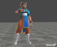 Chun Li Thumbs up by SpongeDudeCoolPants