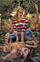Jungle Book #3 cover by JeremyColwell