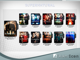 Supernatural Icon Pack by GianMendes