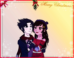 AT for DisneyGal1234 - Daisy and Sasuke by ChibiRainbowStarr