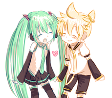 my babies 4ever - mikulen by MikuFregapane
