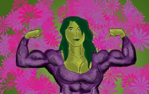 She-Hulk (March 2013) by fmvra1s