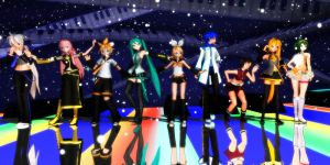 Vocaloid DT:D by GrayFullbuster21