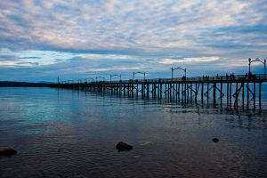 White Rock Peir by ackbad