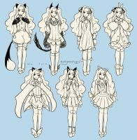 Seeu Costumes by KittyCouch