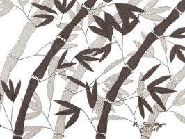 Silver Bamboo by KellyGirl1