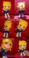 chibi Lady Oscar plush version by Momoiro-Botan