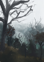Newbrush Painting by OR-SO-HELP-ME