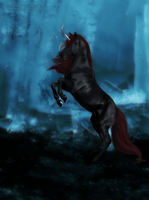 made of blood and ashes :: COMMISSION by TwiWolf