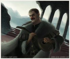 A Game of Thrones: Chasing Dragons Bard by Cowboy-Lucas