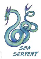 Sea Serpent by SkyJaguar