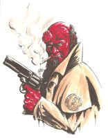 Hellboy by MikimusPrime