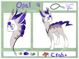 Opal The Finnedyr by LucidDreamDog