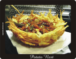 potato nest by vegancuisine
