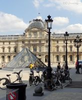 The Louvre Palace and Velib by EUtouring