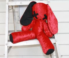 Quinny's Red Velvet Bunny by TheHarley