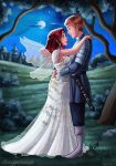 Moonlight wedding by HollyBell