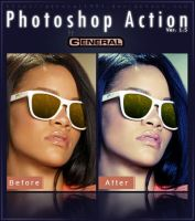 Photoshop Action Ver. 1.5 by General1991