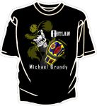 Outlaw World Champ T-Shirt by simplemanAT