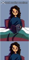 Books are evil by Eliwi
