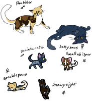 Cat Breedables #3 Litter13 by AerithsAdopts