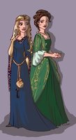 costume ball dresses by TaijaVigilia