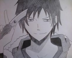 Izaya by DesteryVoid