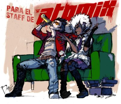 No more heroes Atomix by StriderS