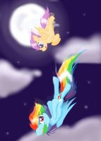 I'll be there to catch you by GummyTheMlpAlligator