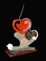 Heart Sugar Showpiece by pathofpetals